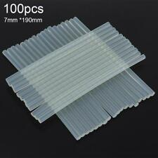 100pcs/set 7mmx190mm Transparent Hot-melt For Gun Glue Sticks Adhesive DIY Tool
