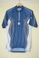 RETRO MENS SHAMP BLUE CYCLING SHORT SLEEVE JERSEY MENS CHEST 42""