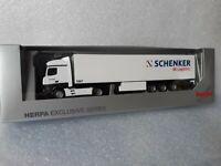 Actros Giga 11  DB Schenker DB Logistics   Koffer- Auflieger 5167