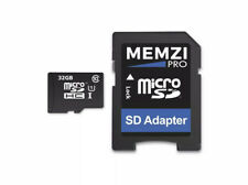 MEMZI PRO 32GB Class 10 80MB/s Micro SDHC UHSC-1 Memory Card with SD Adapter.