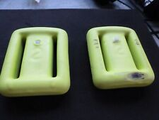 ! 2 ! Sea Pearls Weight Vinyl Coat /Lacethru/ Neon Yellow/ Conveyor Rub-Blem!