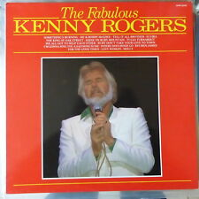 KENNY ROGERS LP THE FABULOUS KENNY ROGERS 1988 UK VG++/EX