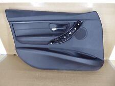BMW F30 F31 Front Left Door Panel Trim Cover Black OEM 328i 320i 335