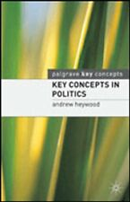 Key Concepts in Politics (Palgrave Key Concepts),Andrew Heywood