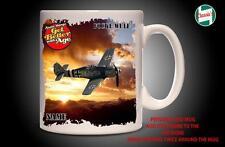 Personalised FOKKER WULF WW2 GERMAN PLANE Mug Cup Dad Custom Gift - Add Name