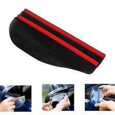 1 Pair Black Car Rearview Mirror Rain Water Rainproof Eyebrow Cover Side Shield