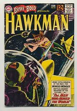 Brave and the Bold #44 (1962) VG (4.0) ~ Hawkman ~ Joe Kubert ~ Gardner Fox