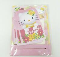 2001 SANRIO HELLO KITTY STATIONARY MINI SHEETS PAPER & ENVELOPES & STICKERS SET