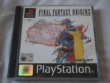 Final Fantasy Origins Final Fantasy I and II PS1 PSX Playstation Complete PAL