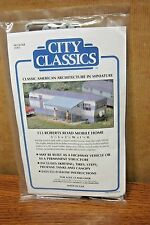 CITY CLASSICS ROBERTS ROAD MOBILE HOME HO SCALE BUILDING KIT