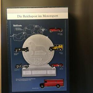 1:87 BUB Set Die Reichspost im Motorsport Deutsche Post Philatelie neuwertig OVP
