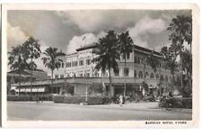 RPPC Postcard Raffles Hotel Singapore China