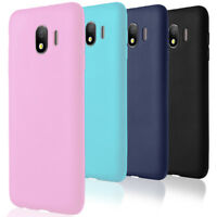 Lightweight Slim Bumper for Samsung Galaxy J4 2018 Case Soft Rubber Mobile Cover