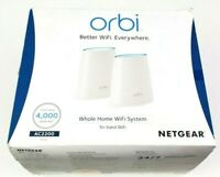 NETGEAR Orbi Home Mesh RBK40-100NAS WiFi System Router and Satellite (RBK40)