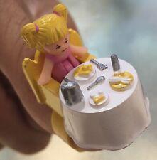 Vintage Polly Pocket Tiny Tina's Dinner Time Ring 1989