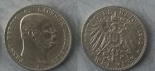 Saxe-Altenburg 1901 (Germany) silver 2 Mark, NICE, Rare