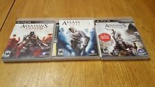 PS3      ASSASSIN'S CREED     1       2    &    3