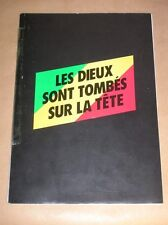 """RARE DOSSIER DE PRESSE DU FILM """"LES DIEUX SONT TOMBES SUR LA TETE"""" / 1983 +++"""