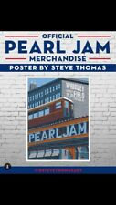 Official 2018 Steve Thomas Wrigley Pearl Jam Poster