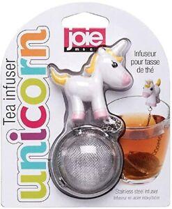 JOIE TEA INFUSER UNICORN 18/8 Stainless Steel Tea Ball & BPA Free