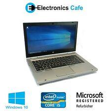 "HP EliteBook 8470p 14"" Laptop/Notebook 2.80GHz Core i5 4GB DDR3 Windows 10"