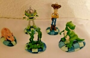 Disney Pixar Toy Story Christmas Ornaments set of 5 ready to hang