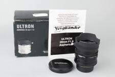 Voigtlander Ultron 28mm f/1.9 Aspherical Lens for M39 L39 LTM Screw Mount