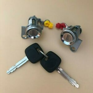 DOOR LOCK SET W/KEY(L&R) FOR 93-97 TOYOTA COROLLA 93-95 GEO PRIZM 69051-13150