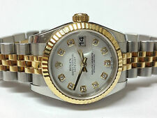 Rolex Polished Wristwatches with 12-Hour Dial