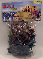 Alamo Texian Soldiers & Mexican Troops Bagged Playset - 50 Pieces 54mm Scale