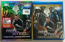 Real Steel (Bluray, DVD, 2012, 3-Disc Set, OOP, Slipcover) Canadian