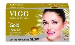 VLCC Natural Gold luxurious Facial Kit Gives Bright & Radiant Glow - 60g (2.1oz)