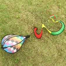 "55"" Hot Air Balloon Windsocks Windmill Garden Yard Outdoor Toy Decor Checked"