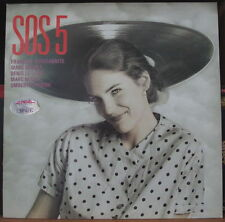 SOS 5 SOS QUINTETTE  FRENCH LP IDA RECORDS IDA 007 1986