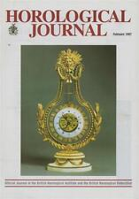 Horological Journal 139/2 Edward East. Ratchet Wheels. Timing Machine. z79