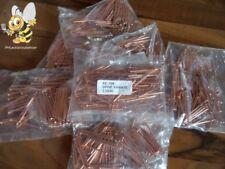NEU Kupfernieten 100 Stück 2,5 x 50 mm für Nagelspotter Spotter Nagler
