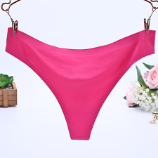 5bdd2c8570 Women Ladies G-string Briefs Panties Seamless Thongs Lingerie Underwear  Knickers