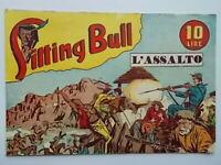 l'assaltoalbo saturniasitting bull31949fumetti western Marijac Dut razzo