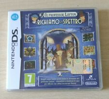 IL PROFESSOR LAYTON E IL RICHIAMO DELLO SPETTRO NINTENDO DS-3DS-2DS ITALIANO