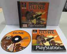 Console Game Gioco SONY Playstation PSOne PSX Play PAL - DUNE - Westwood - - - -
