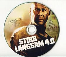 Bruce Willis   Enhanced CD PROMO   STIRB LANGSAM 4.0 ( APK LIMITED EDITION)