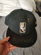 New Era The Finals NBA Black Gold 9FIFTY Fitted Snapback Hat