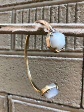 💖🌟NWT Kendra Scott Brinkley Bracelet in White Banded Agate/Antique Brass🌟💖