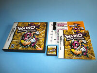 Wario: Master of Disguise Nintendo DS Lite DSi XL 3DS 2DS w/Case, Manual Inserts