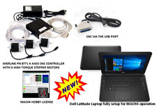 dPP MILL CNC kit for Sherline. A Complete CNC System + Dell Laptop (Windows OS)