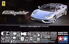 FERRARI 360 Spider Modena 2000-05 TAMIYA 1:24 Kit Construcción