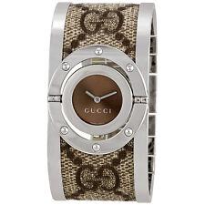 Gucci 112 Twirl Bangle Ladies Watch YA112425