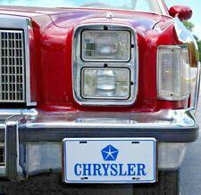 4x Headlight Chrysler Cordoba Retrofitting US Eu E-Certified