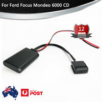 Bluetooth Wireless Module Radio Stereo Aux Adaptor For Ford Focus  6000 CD