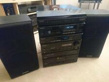 Vintage Pioneer Hi-Fi Separates Stacking system - With 6 CD Multichanger